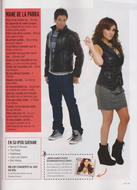Eres Magazine [Mexico] (1 December 2011)
