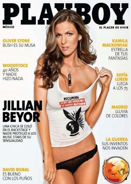 Jillian Beyor - Playboy Magazine Cover [Mexico] (September 2009)