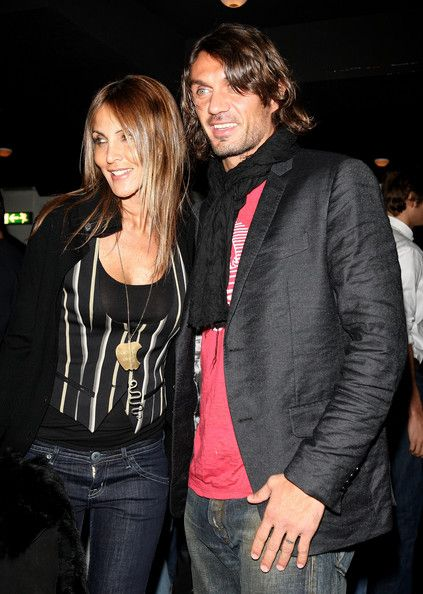 Paolo Maldini  and Adriana Fossa
