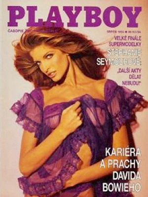 Stephanie Seymour - Playboy Magazine Cover [Czech Republic] (August 1993)