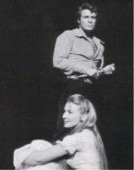 Inga Swenson  &  Robert Horton