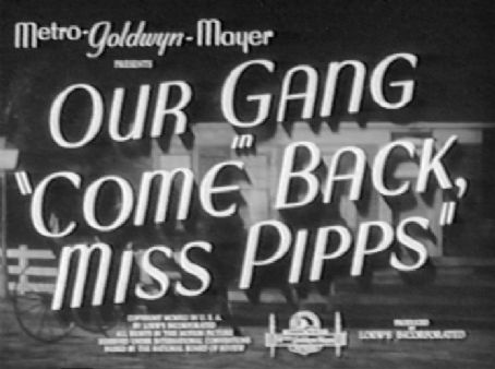 Come Back, Miss Pipps (1941) Poster