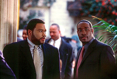 Two Can Play That Game Anthony Anderson and Morris Chestnut in Screen Gems'  - 2001