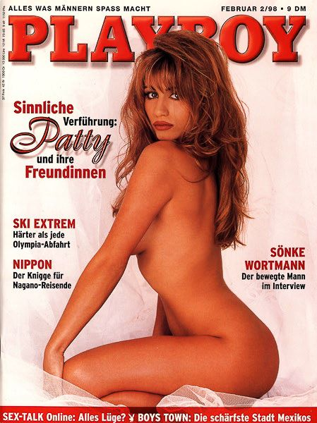 Patty Breton - Playboy Magazine Cover [Germany] (February 1998)