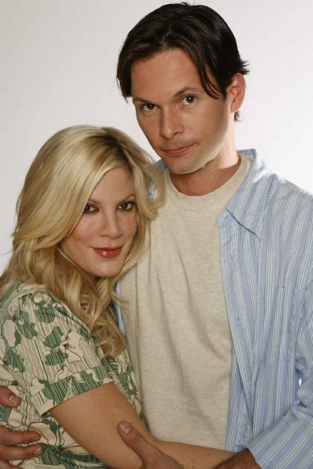 James O'Shea - Tori Spelling and James O'Shea in Kiss the Bride.