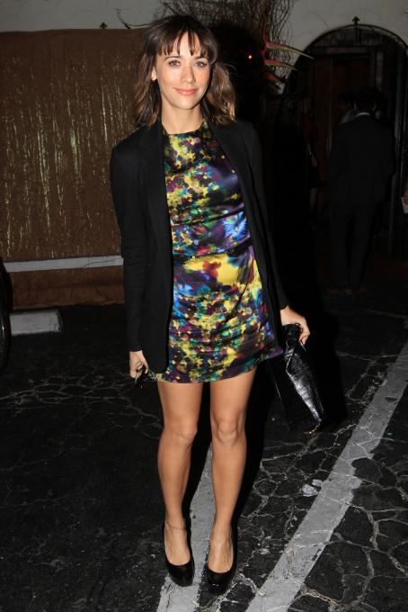 Rashida Jones - Pre Golden Globes New York Times Style Magazine Dinner Los Angeles January 13, 2011
