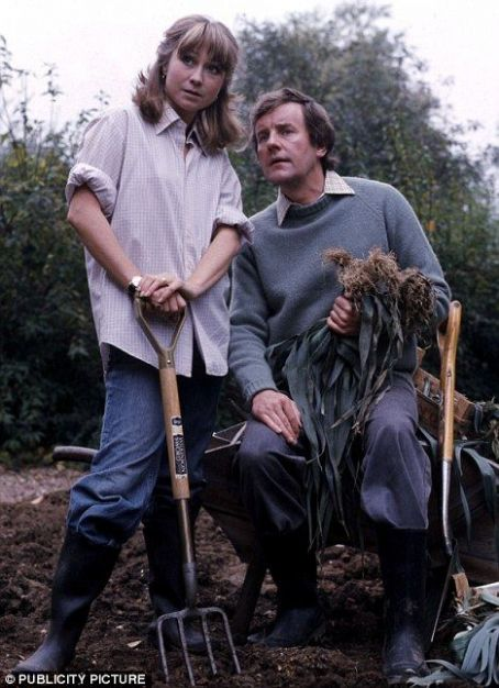 Felicity Kendal and Richard Briers