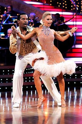 Kym Johnson  w/ David Alan Grier in 'Dancing With The Stars'