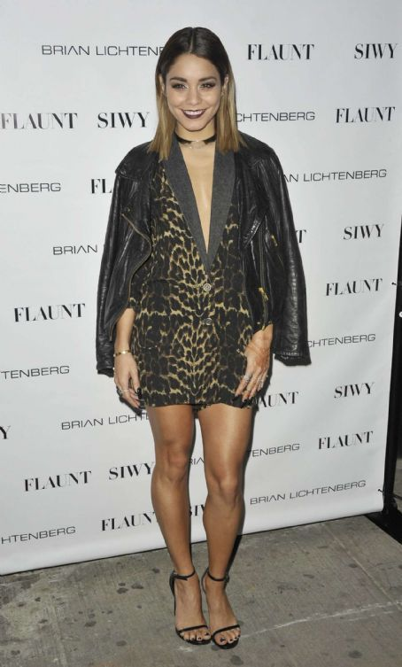 Vanessa Hudgens at Flaunt Magazine's Distress Issue Launch Party