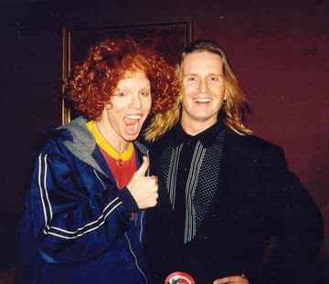 Scott 'Carrot Top' Thompson Carrot Top