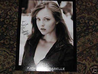 Katharine Isabelle  ORIGINAL SIGNED PHOTO