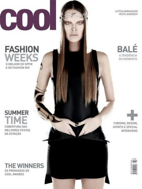 Letícia Birkheuer - COOL Magazine Cover [Brazil] (February 2011)