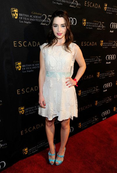 Emilia Clarke - BAFTA Los Angeles 18th Annual Awards Season Tea Party - Red Carpet