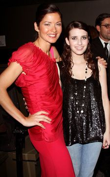Jill Hennessy  with Emma Roberts