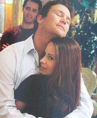 Charmed Holly Combs and Brian Krause