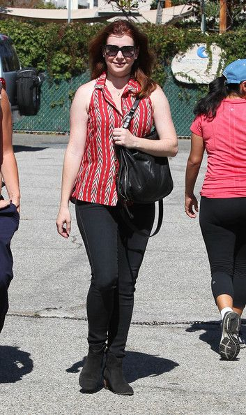 Alyson Hannigan Out And About With Satyana