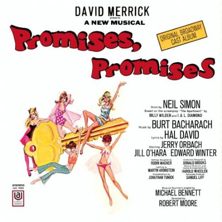 Musicals PROMISES,PROMISES  1968 BROADWAY MUSICAL