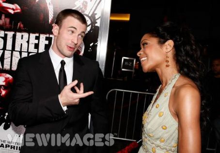Naomie Harris Chris Evans and