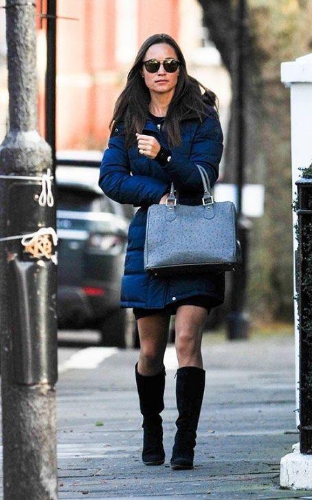 Pippa Middleton wears Lamb - London February 13, 2014