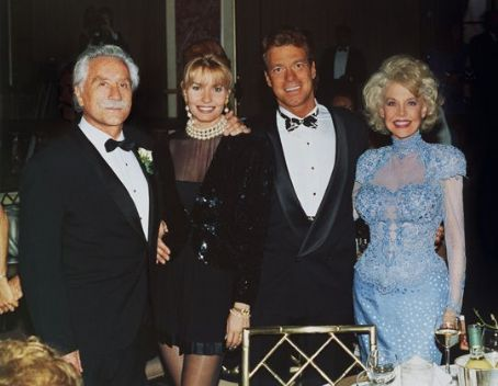 Joe Piscopo Betty Brosmer  with Joe Weider (husband) &