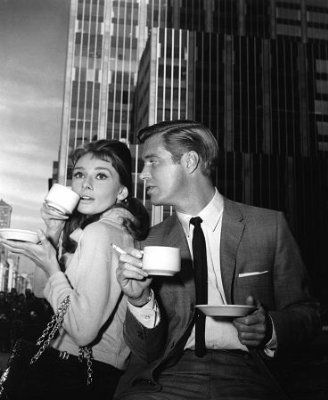 George Peppard Audrey Hepburn and