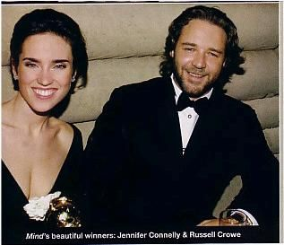A Beautiful Mind Russell Crowe and Jennifer Connelly