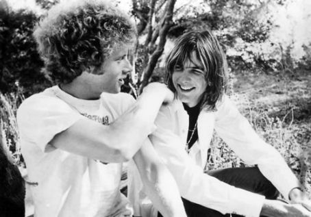 Chris Hillman and Gram Parsons