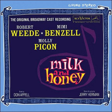 Molly Picon Milk And Honey 1960 Broadway Musical Starring Robert Weede