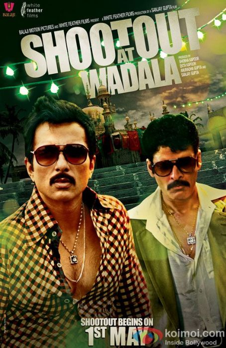 Sonu Sood Shootout at Wadala New Posters 2013