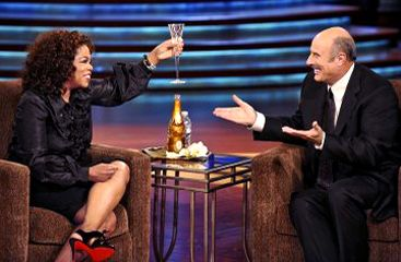 Phil McGraw Dr.  with Oprah Winfrey