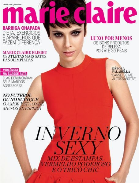 Marie Claire Magazine Cover [Brazil] (June 2012)