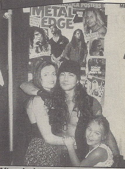 Jake E. Lee Jake Lee and his girlfriend Linda