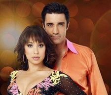 Gilles Marini  with Cheryl Burke