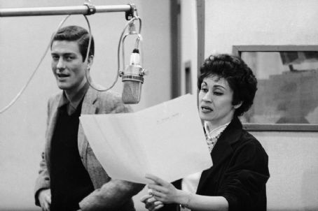 Chita Rivera DICK VAN DYKE AND CHITA RIVERA RECORD SONGS FOR THE 1960 BROADWAY MUSICAL VERSION OF ''BYE BYE BIRDIE''
