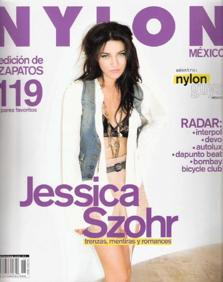 Jessica Szohr - Nylon Magazine Cover [Mexico] (September 2010)