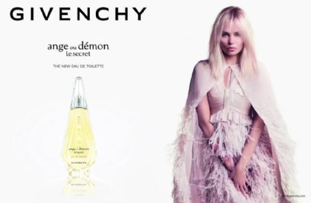Natasha Poly for Givenchy 'Ange ou Démon' Le Secret 2013 Ad Campaign
