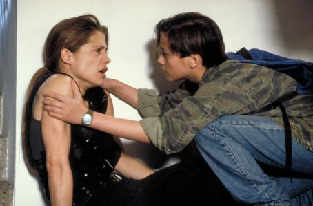 Terminator 2: Judgment Day Linda Hamilton ('Sarah Connor,' left) and Edward Furlong ('John Connor,' right) star in Lionsgate Home Entertainment's Terminator 2 Skynet Edition Blu-ray.