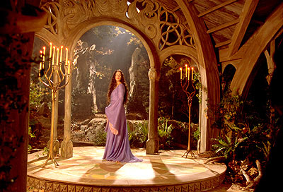 Liv Tyler as Arwen in New Line's The Lord of The Rings: The Fellowship of The Ring - 2001