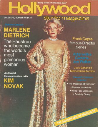 Marlene Dietrich - Hollywood Studio Magazine [United States] (February 1979)