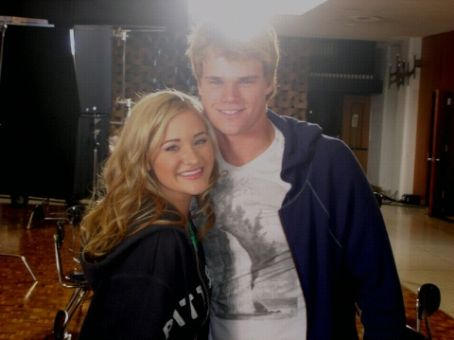 Brendan Miller and Amanda Michalka