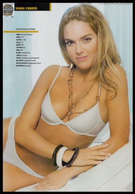Diana Chaves - Maxmen Magazine Pictorial [Portugal] (May 2006)