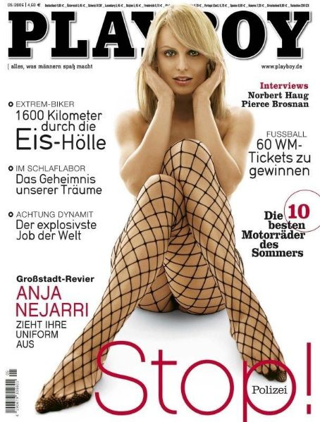 Anja Nejarri - Playboy Magazine Cover [Germany] (May 2006)