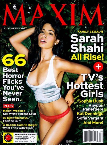 Zoe McConnell Sarah Shahi Maxim US October 2012