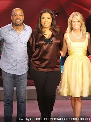 Darius Milhaud Darius Rucker guest stars on Oprah Windrey show with Carrie Underwood