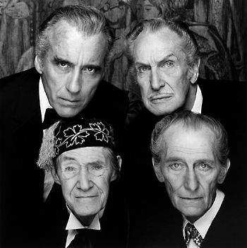 John Carradine Peter Cushing Collection