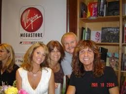 David Coverdale and Cindy Coverdale David and Cindy with friends