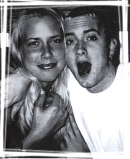 Eminem and Kim Mathers Kim Mathers