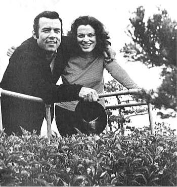 Pernell Roberts  and Judith Anna Roberts