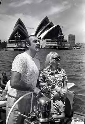 Diane Cilento and Sean Connery