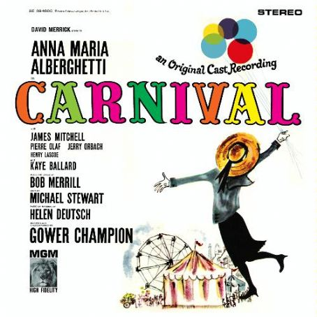 Jerry Orbach Carnival 1961 Broadway Album. Mgm Records,